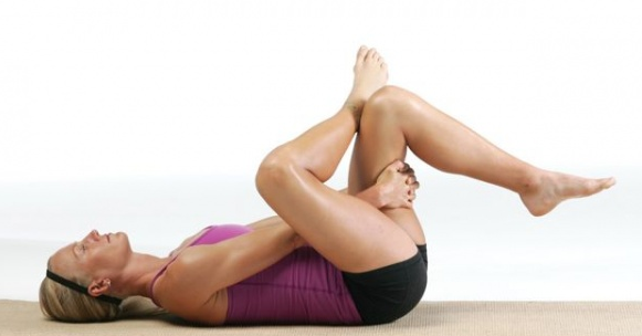 read how this pose helps relieve plantar fascitis